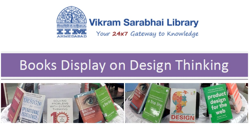 Special Books Display on Design Thinking