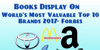 Special Books Display on World's most valuable Top 10 Brands
