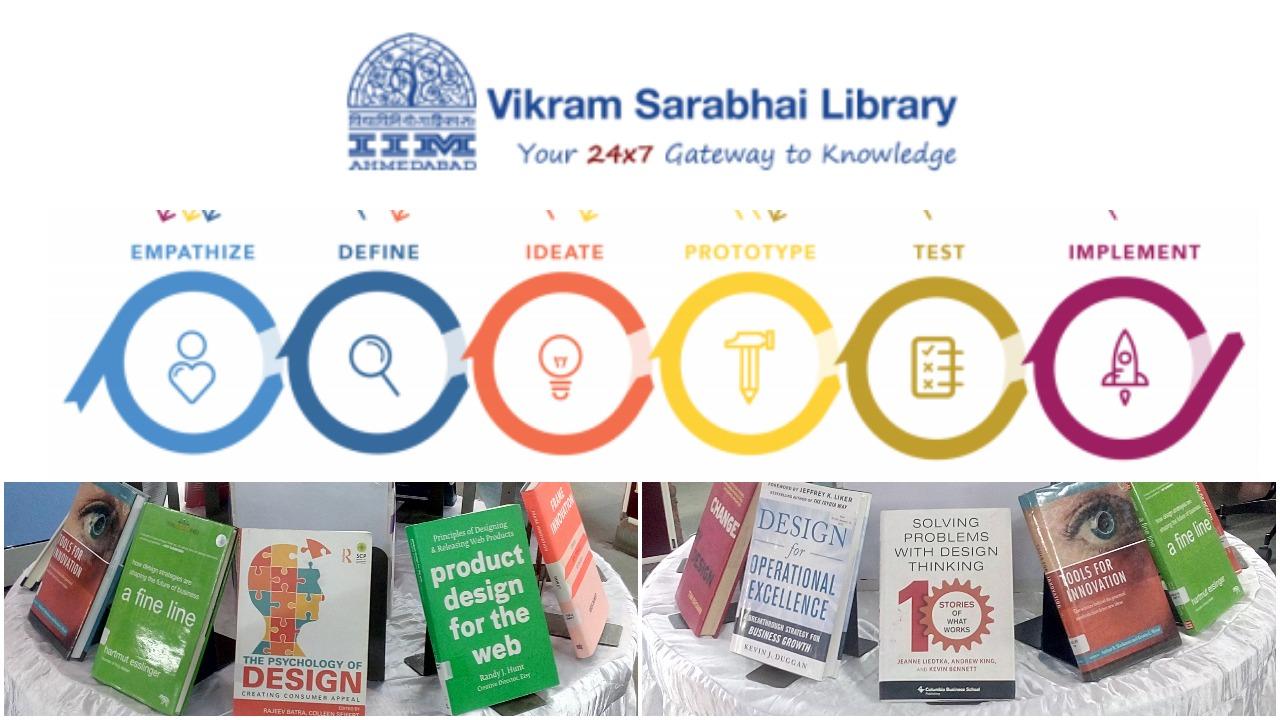 Books Display on Design Thinking