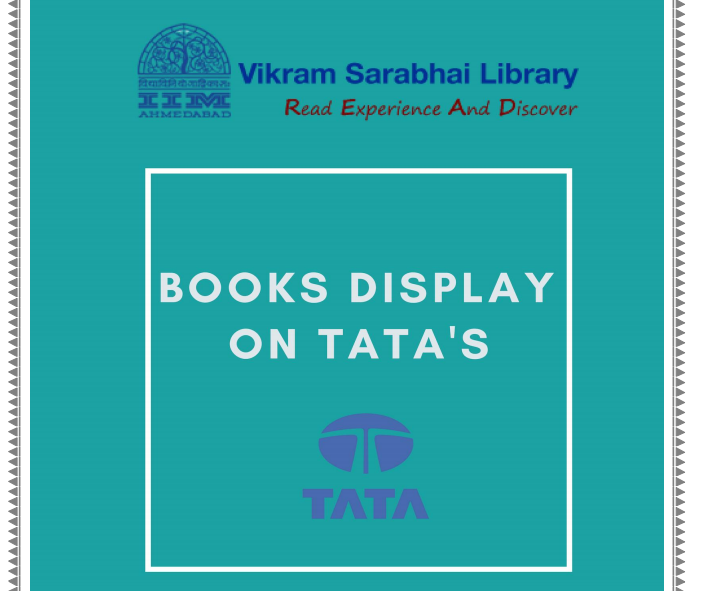 Special display of books on TATA