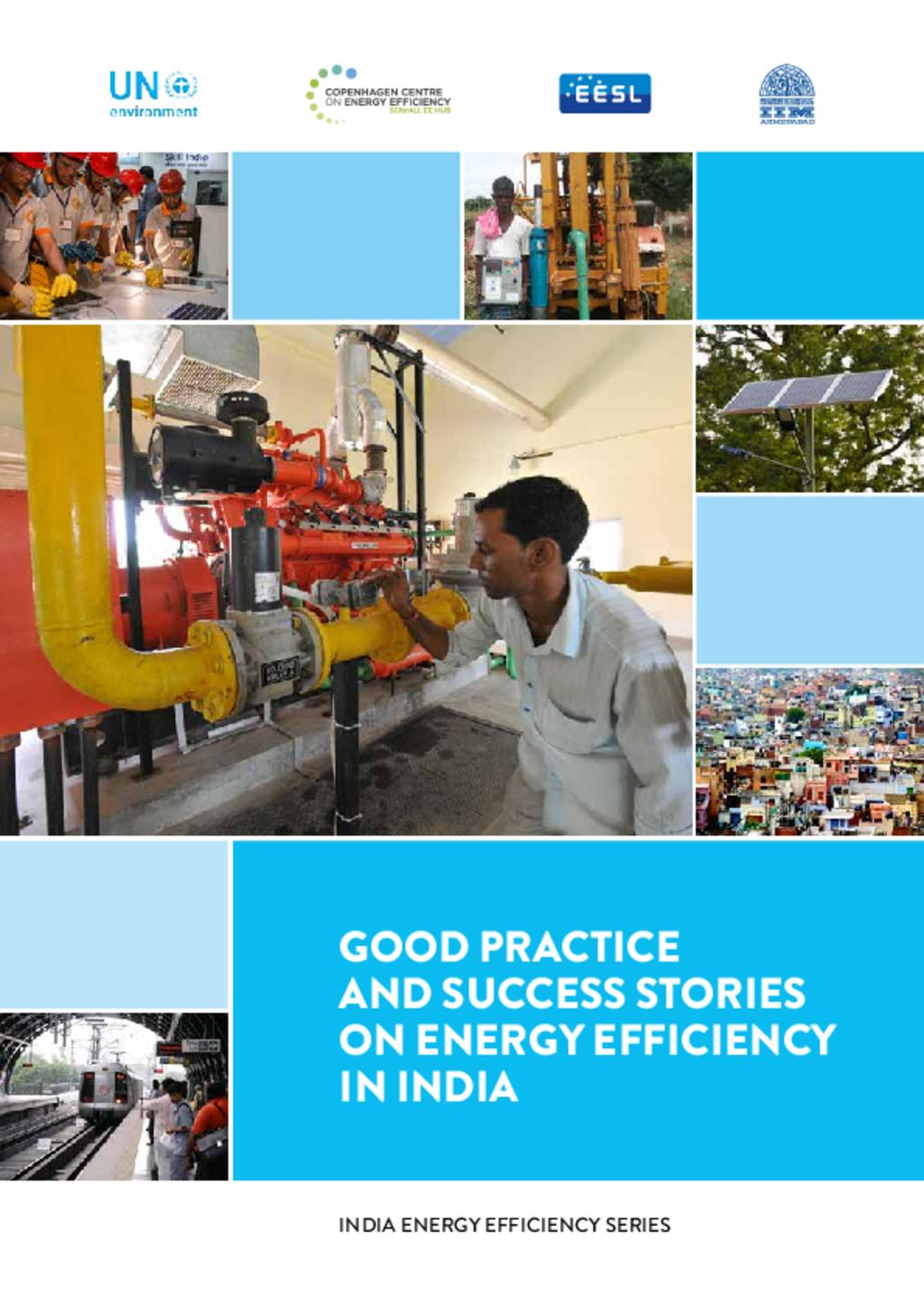 Good practice and success stories on energy efficiency in India