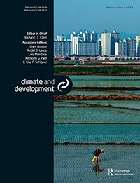 Let the people speak: Improving regional adaptation policy by combining adaptive capacity assessments with vulnerability perceptions of farmers in Gujarat, India