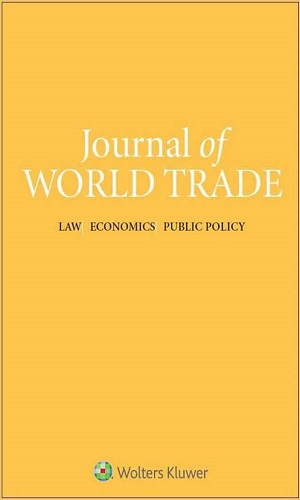 Appellate Body Crisis at the World Trade Organization: View from India