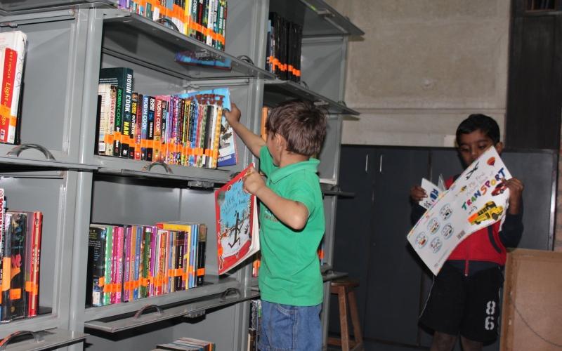 Children Zoneof Vikram Sarabhai Library @ IIM Ahmedabad