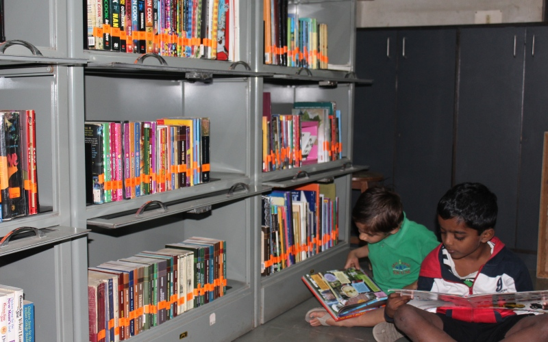Children Zone of Vikram Sarabhai Library @ IIM Ahmedabad