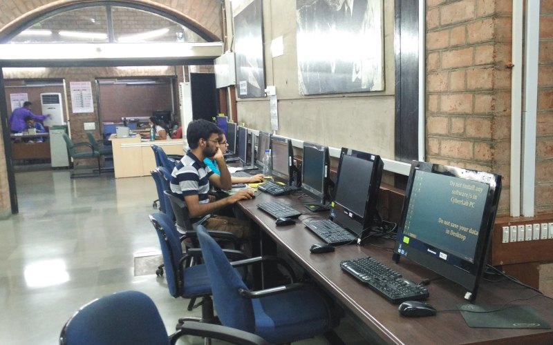 CyberLab photo of Vikram Sarabhai Library @ IIM Ahmedabad