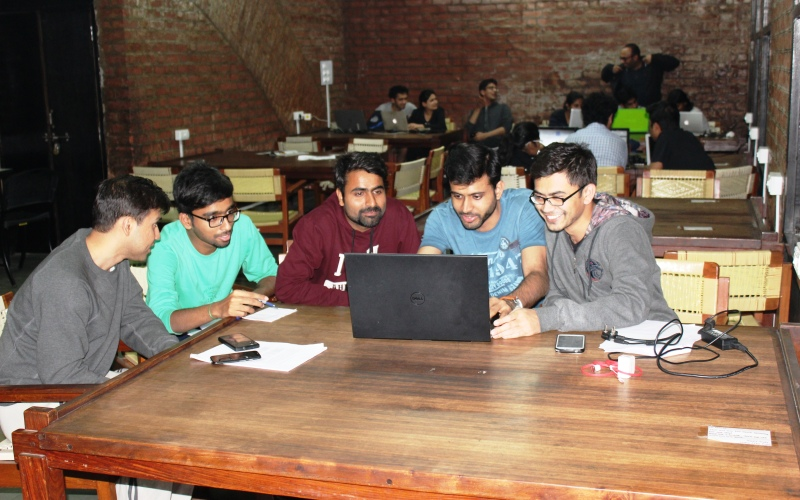 Discussion Zone Photo @ VSL, IIM Ahmedabad