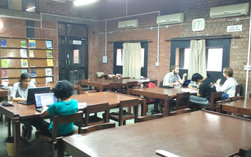Reading Room of Vikram Sarabhai Library @ IIM Ahmedabad
