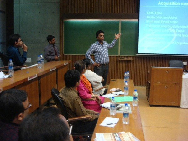 Technical Presentation on KOHA by Mr Amit Gupta, Project Leader, INFORMATICS