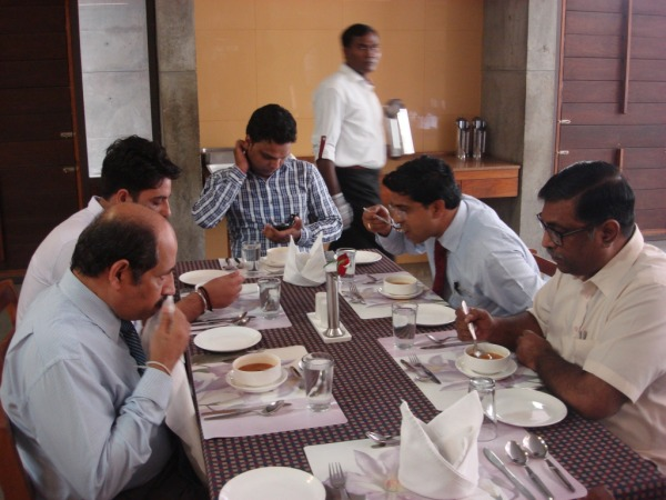 Lunch at IIMA