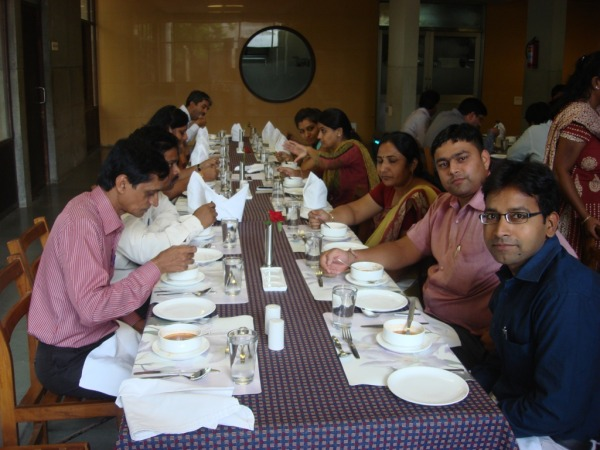 Lunch1 at IIMA