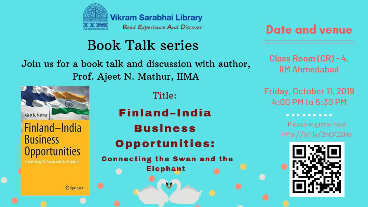 A book talk by Prof Ajeet Mathur
