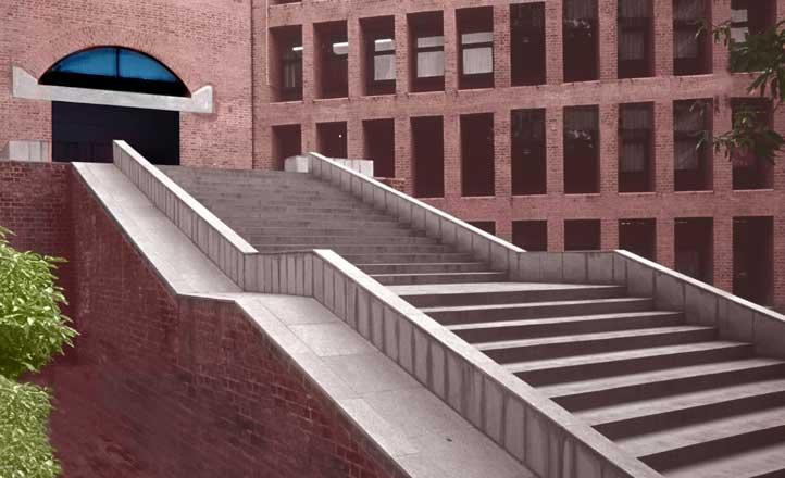 Harward Steps - IIM Ahmedabad