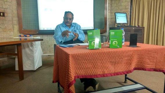 Prof. Ajeet Mathur on his book