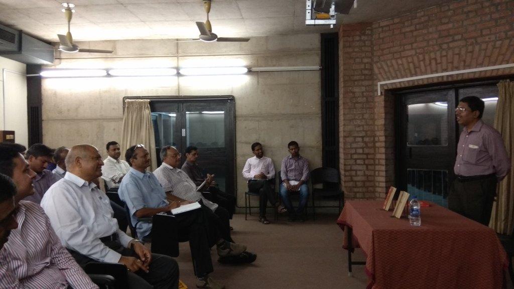 A Talk by Prof. Arnab Laha
